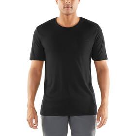 Icebreaker Elmnts Camiseta manga corta Hombre, black